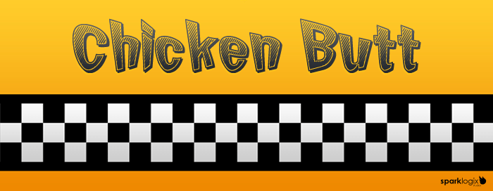 Chicken Butt Font 2012 Web Design and Graphic Design