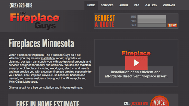 Fireplace Guys Homepage