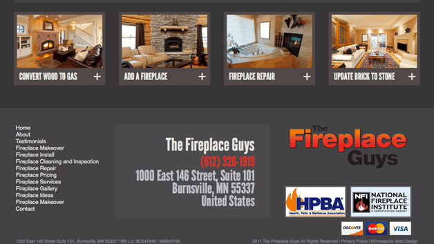 Fireplace Guys Services