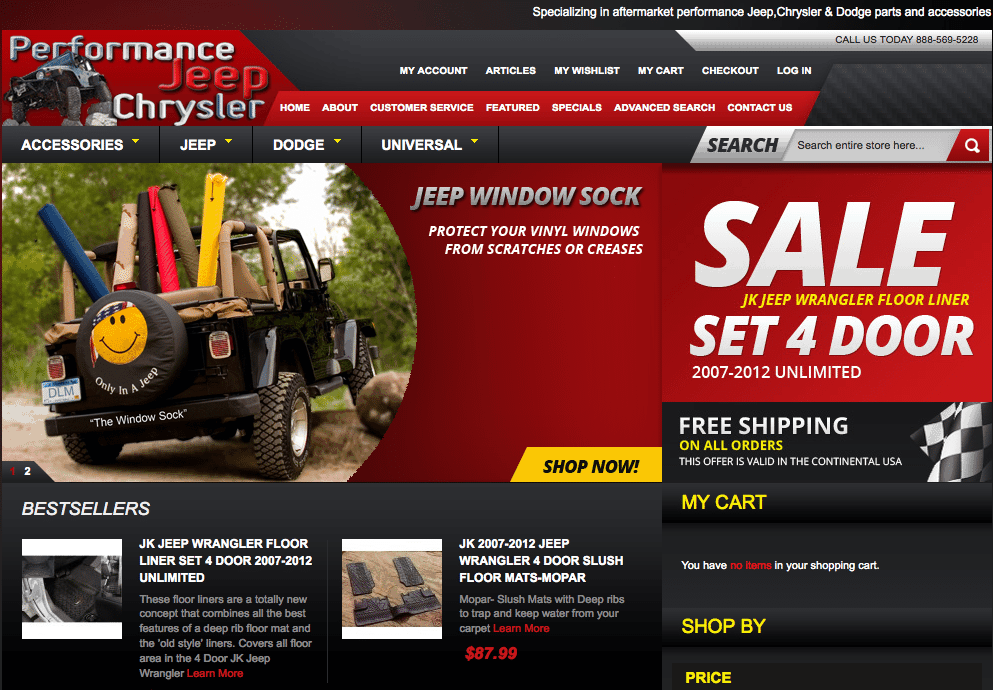 Performance Jeep Chrysler Homepage