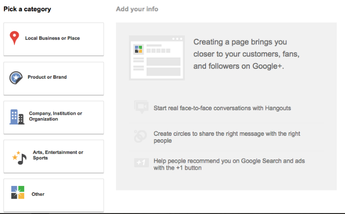 Creating an effective Google Plus Profile