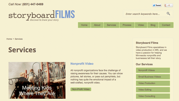 Storyboard Films Services