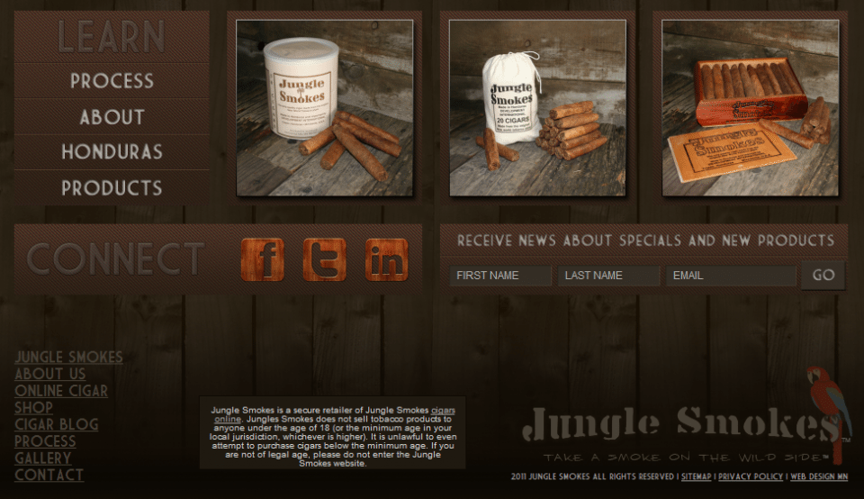 Learn About Jungle Smokes