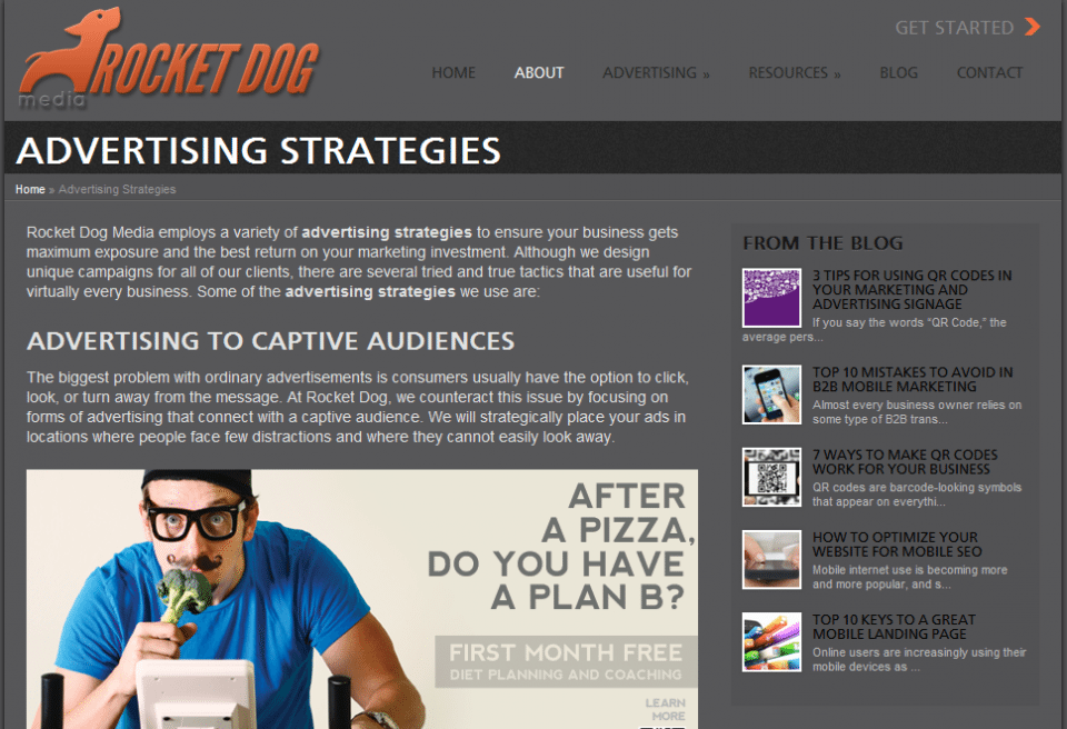 Rocket Dog Media Advertising Strategies