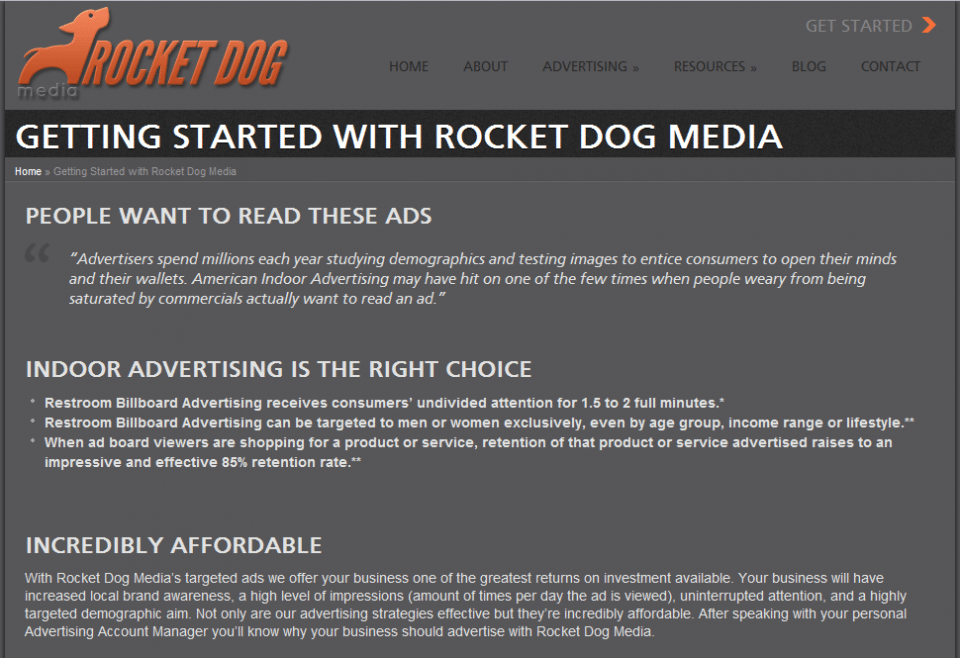 Getting Started with Rocket Dog Media