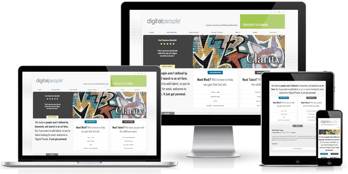 Digital People Responsive Web Design