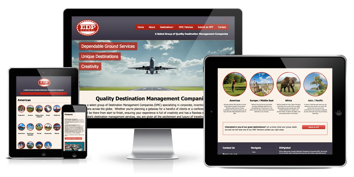 EDP Global Responsive Web Design