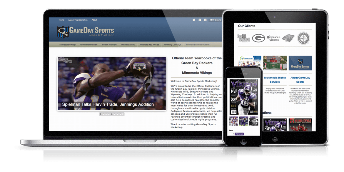 Gameday Sports Responsive
