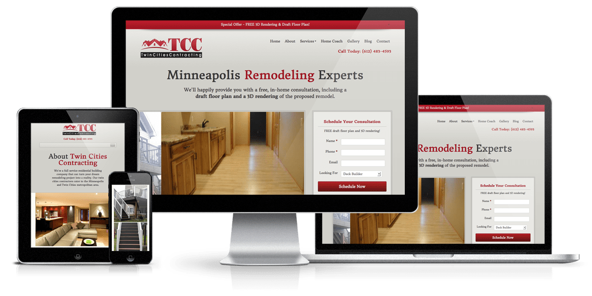 Twin Cities Contracting Responsive