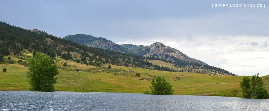 Horsetooth Reservoir On The Water