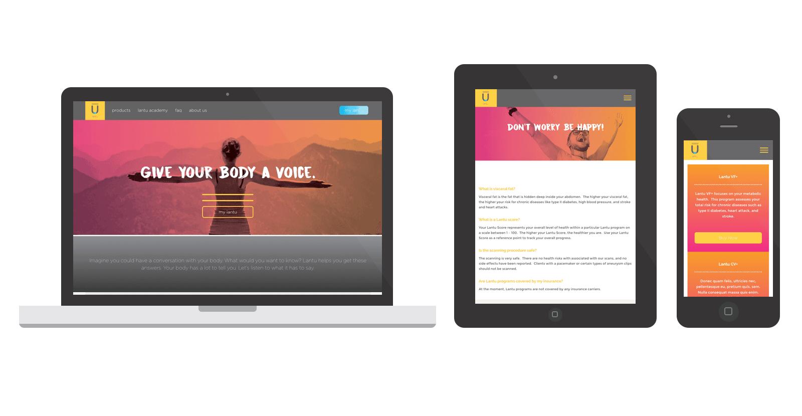Lantu WordPress Website