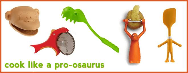 July Giveaway:  Cook Like a Pro-osaurus