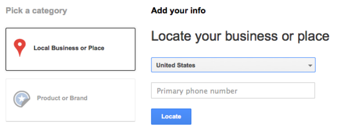 Making google local and google plus the same