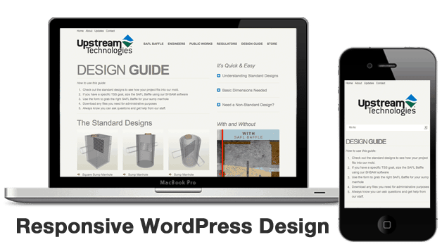 Upstream Technologies Responsive WordPress