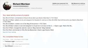 How can a business use Basecamp