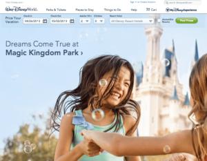 Disney Good Web Design