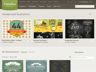 Creative Market Illustrations