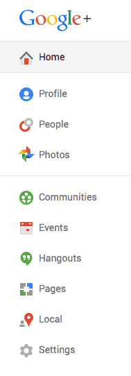 A look at Google+