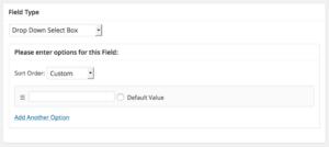 Add Dropdown Select Box for BuddyPress Profile