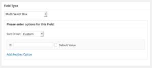 Add Multi Select Box for BuddyPress Profile