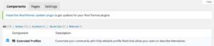 Extended BuddyPress Profiles