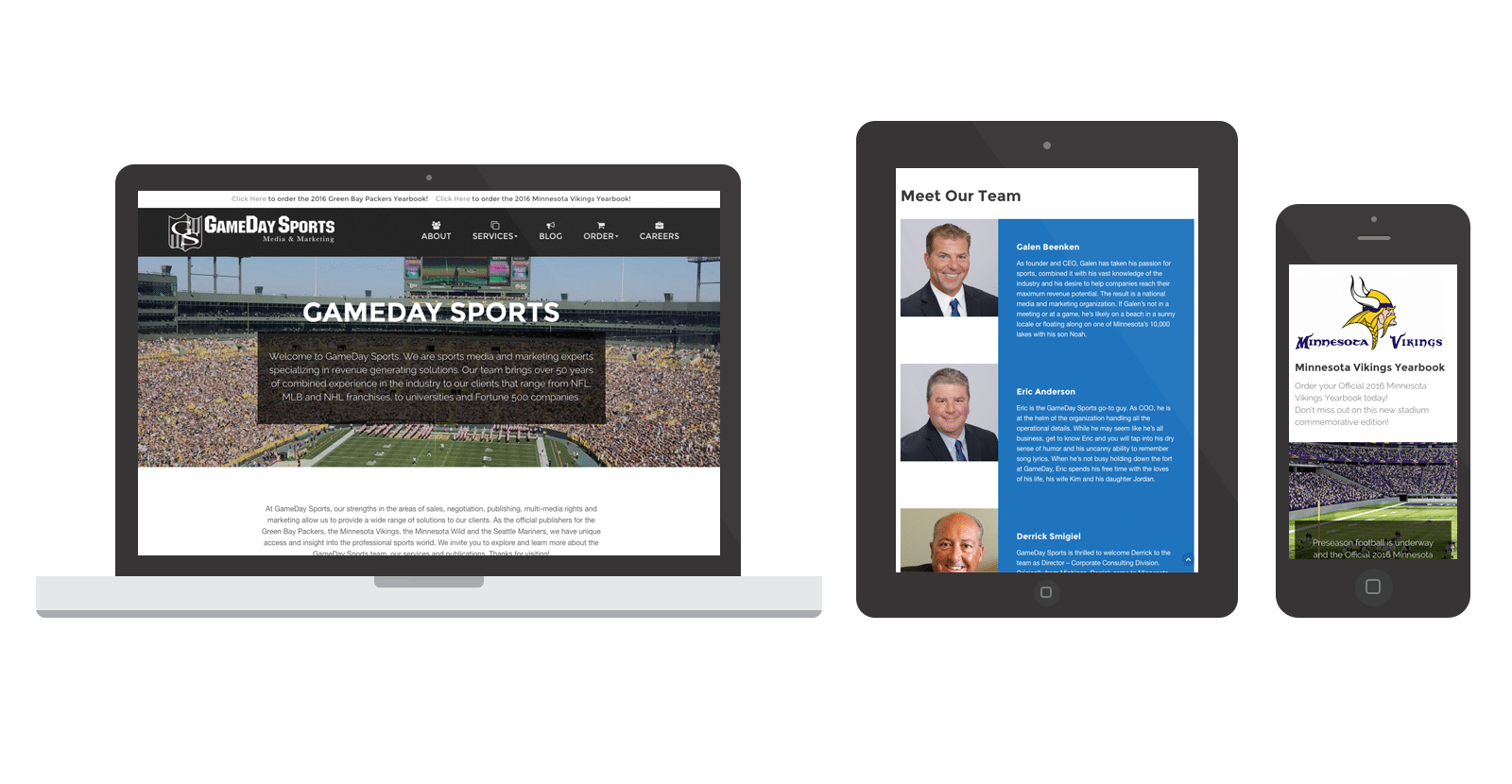 GameDay Sports Inc. WordPress