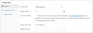 Add Coupons Admin