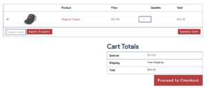 View Cart Frontend