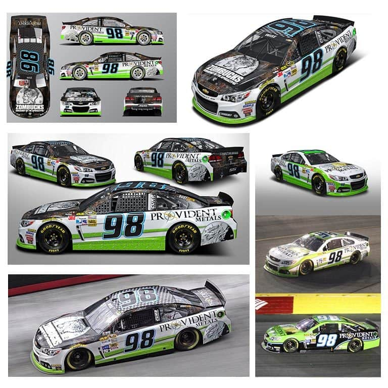 Bristol - Josh Wise - Provident Metals NASCAR Design