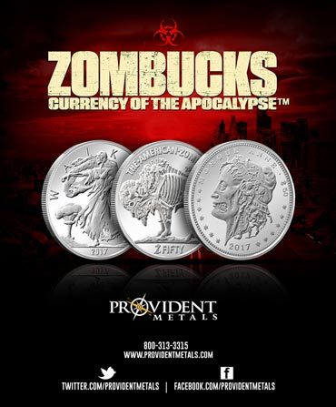 Zombucks Silver Rounds - Print Ad