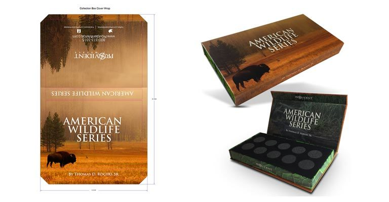 American Wildlife Series Box Design