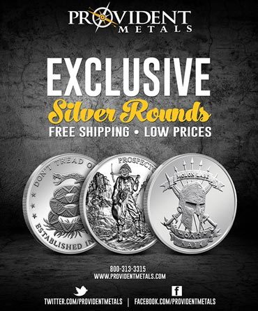 Provident Metals Silver Rounds - Print Ad