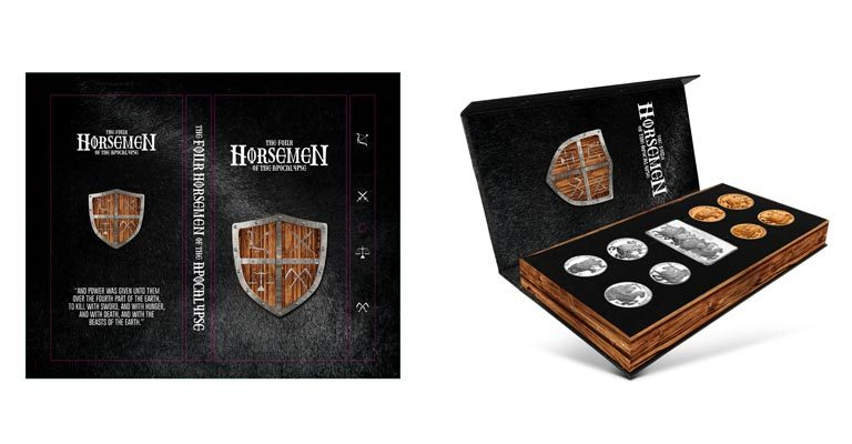 4 Horsemen of the Apocalypse Box Design