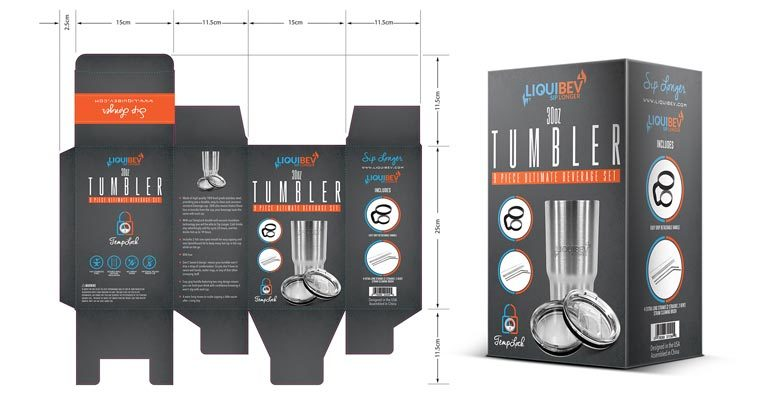 Tumbler Packaging Design