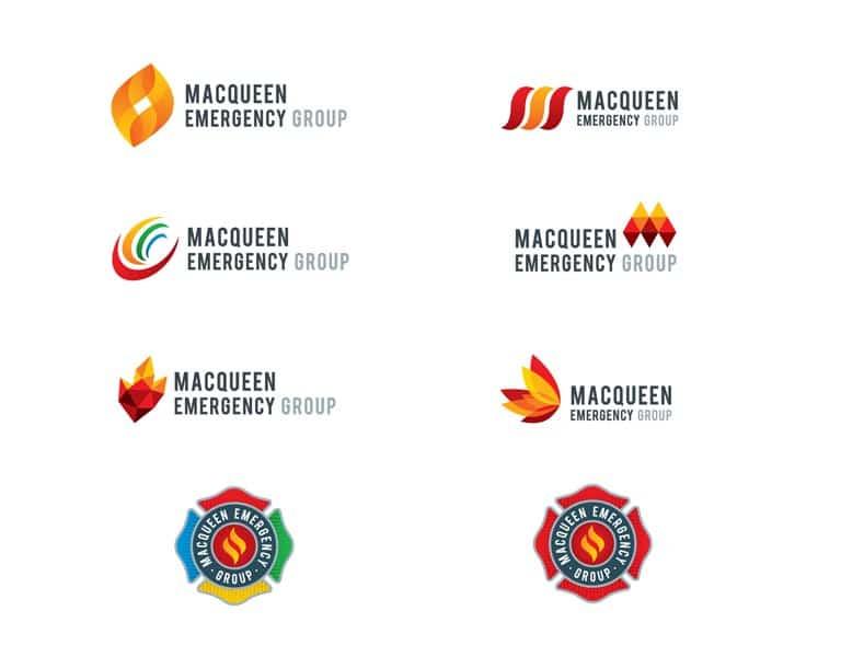 MacQueen Emergency Logos