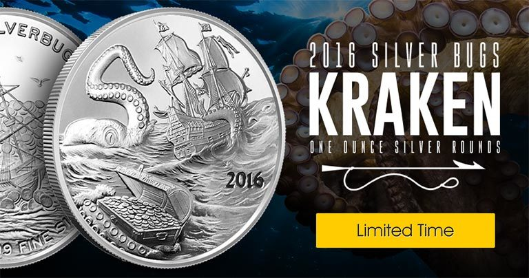Silverbugs Kraken Silver Rounds - Web Creative