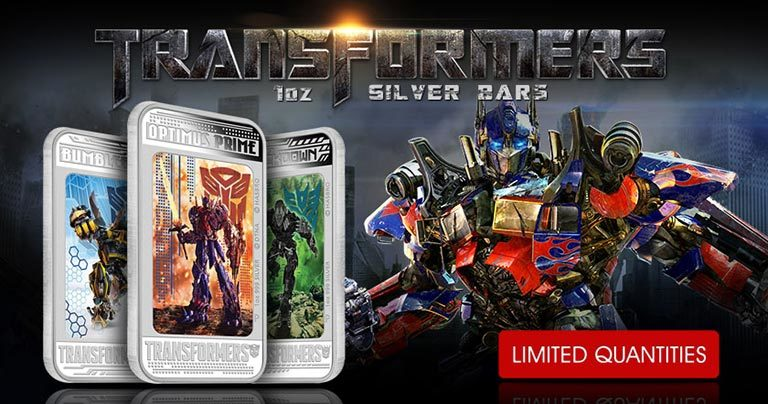 Transformers - 1 oz Silver Bars - Web Creative