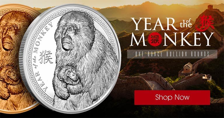 Year of the Monkey - Provident Lunar Silver Round Web Creative