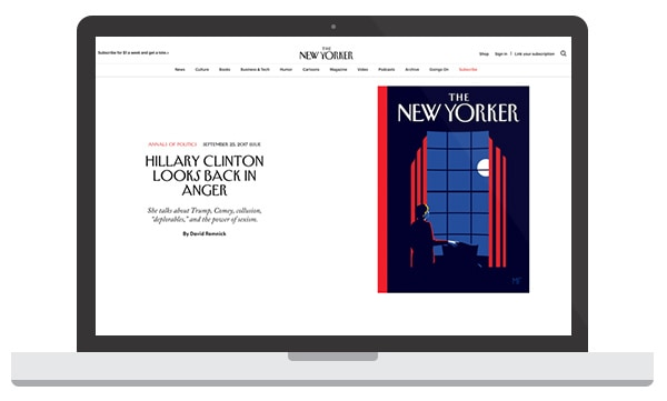 The New Yorker WordPress Website