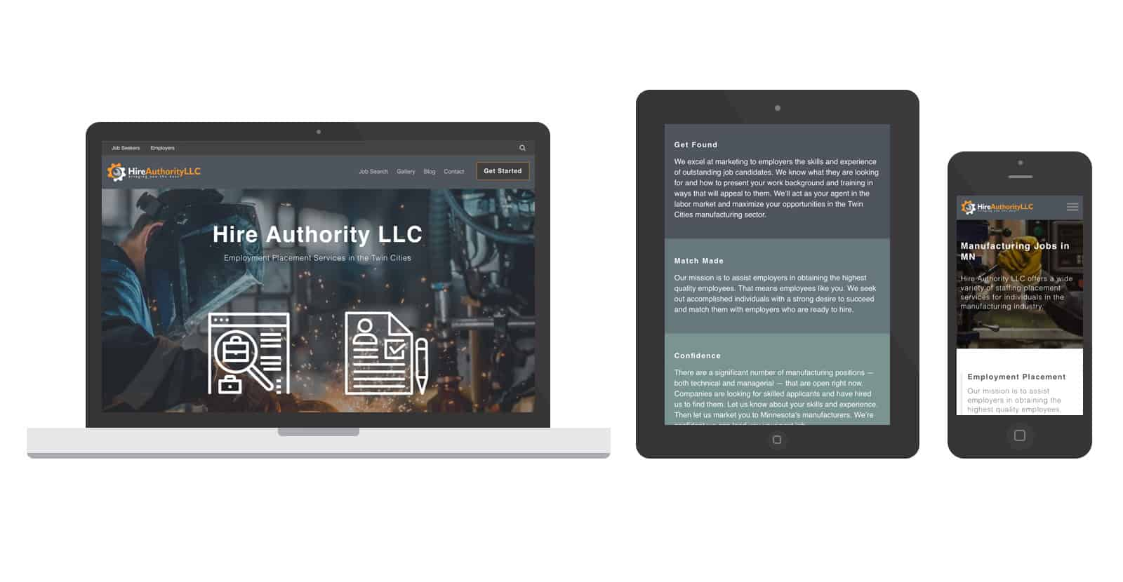 Hire Authority LLC by Spark Logix Studios