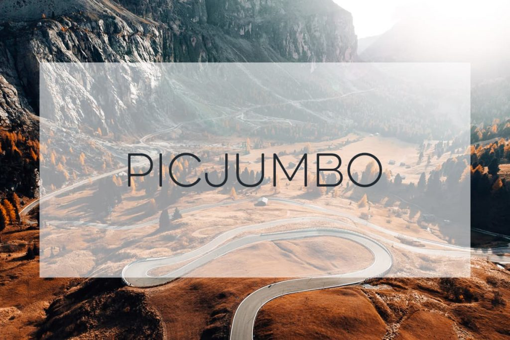 Stock Photography of a winding mountain road