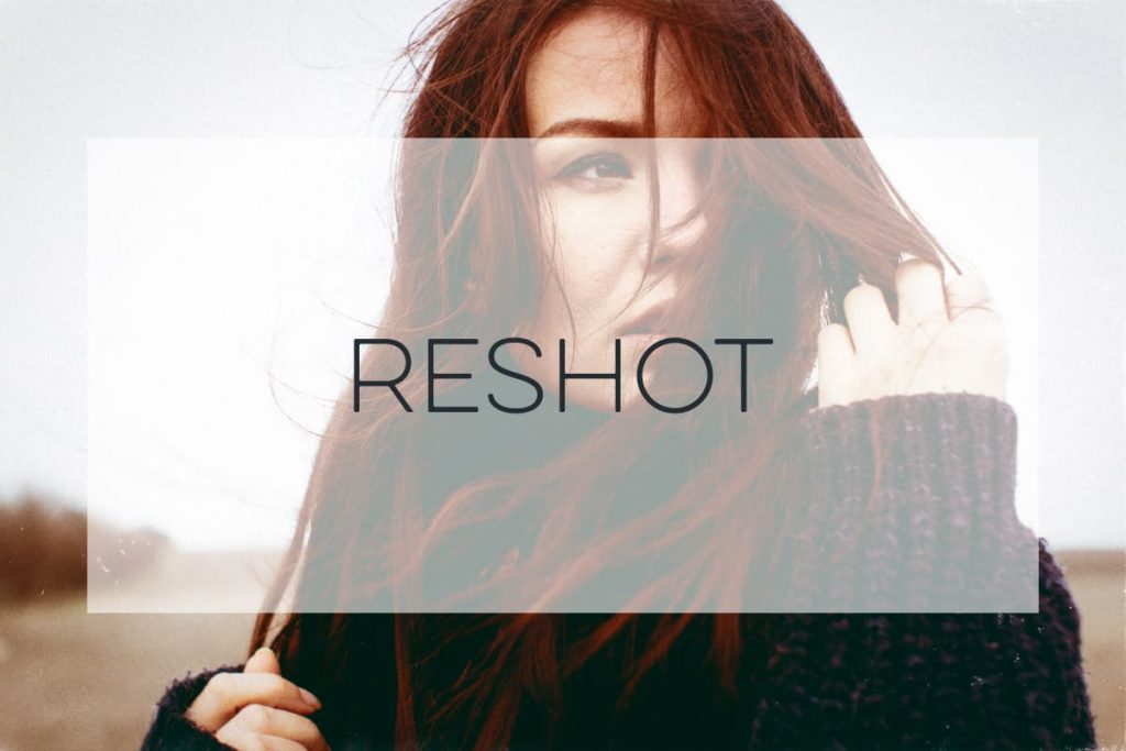 Stock Photography of a red haired woman